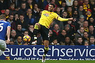 Etienne Capoue of Watford in action. Premier league match, Watford v Everton at Vicarage Road in Watford, London on Saturday 10th December 2016.<br /> pic by John Patrick Fletcher, Andrew Orchard sports photography.
