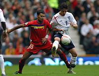 Photo: Paul Thomas.<br /> England v Andorra. European Championships 2008 Qualifying. 02/09/2006.