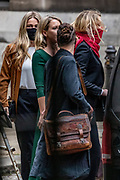 Amber Heard, the ex-wife of Johnny Depp leaves the High Court in London, where the actor has been giving evidence during a hearing in his libel case against the publishers of The Sun and its executive editor, Dan Wootton. (VXP Photo/ Vudi Xhymshiti)