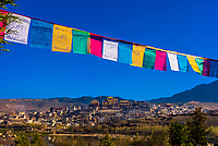 Ganden Sumtseling (Songzanlin) Monastery, Shangri La, Yunnan Province, China. It is the largest Tibetan Buddhist monastery in Yunnan Province.