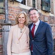 NLD/Naarden/20190419 - Matthaus-Passion in de grote kerk van Naarden, Maxime Verhagen en partner Annemieke Beijlevelt