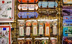A tourist shop in the medieval Cité de Carcassonne, France<br /> <br /> (c) Andrew Wilson   Edinburgh Elite media