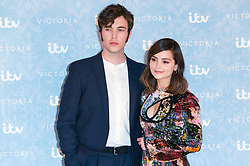 © Licensed to London News Pictures. 24/08/2017. London, UK. Actor TOM HUGHES and actress JENNA COLEMAN attend the launch of the ITV series VICTORIA season 2. Jenna plays Queen Victoria in the series. Photo credit: Ray Tang/LNP