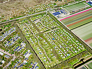 Nederland, Noord-Holland, gemeente Schagen, 07-05-2021; Sint Maartenszee, vakantiepark Aan Noordzee.<br /> luchtfoto (toeslag op standaard tarieven);<br /> aerial photo (additional fee required)<br /> copyright © 2021 foto/photo Siebe Swart