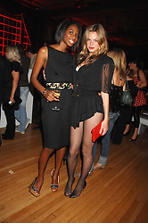 Left to right, SAM AKT and NATASHA GILBERT at the M.A.C. Viva Glam party featuring a performance by Dita Von Teese of 'Lipteese' held at the Bloomsbury Ballroom, Victoria House, Bloomsbury Square, London on 27th June 2007.<br /><br />NON EXCLUSIVE - WORLD RIGHTS