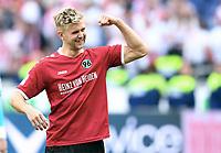 Schlussjubel Niclas Fuellkrug (Hannover)<br /> Hannover, 14.05.2017, Fussball 2. Bundesliga, Hannover 96 - VfB Stuttgart 1:0<br /> <br /> Norway only