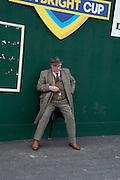 DEREK DONKIN, The Cheltenham Festival Ladies Day. Cheltenham Spa. 11 March 2015
