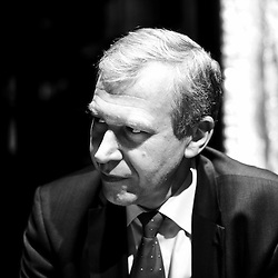 PARIS, FRANCE. DECEMBER 9, 2011. Belgium's former Prime Minister Yves Leterme, now the Deputy Secretary-General of the OECD, being interviewed by De Tijd at the Brasserie du Coq, a French restaurant. Photo: Antoine Doyen