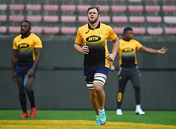 Cape Town-180622 Springbok player Duane Vermeulen having a practice during the captain's run at Newlands.The team will be facing England in their last test game at Newlines stadium.Photographer:Phando Jikelo/African News Agency/ANA