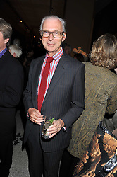 The HON.SIR TIM SAINSBURY at a private view of Private Eye: The First 50 Years - an exhibition at the Victoria & Albert Museum, London on 17th October 2011.