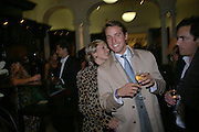 Isabella Sherlock and Alexander Gilkes. The Moneypenny diaries book launch. Smythson, 40 New Bond St. London.  4 October 2005. . ONE TIME USE ONLY - DO NOT ARCHIVE © Copyright Photograph by Dafydd Jones 66 Stockwell Park Rd. London SW9 0DA Tel 020 7733 0108 www.dafjones.com
