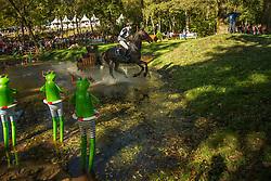 Siemer Anna (GER) - Butts Avondale<br /> Cross country 7 years old horses<br /> Mondial du Lion - Le Lion d'Angers 2014<br /> © Dirk Caremans<br /> 18/10/14