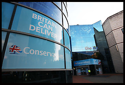 The Conservative Party Conference in Birmingham, Sunday,  October 7th 2012. Photo by: Stephen Lock / i-Images
