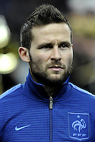 Football Fifa Brazil 2014 World Cup - Friendly Matchs 2013 -<br /> France vs Germany 1-2  ( Stade de France Stadium-Saint-Denis , France )<br /> Yohan Cabaye of France , during the Friendly Match between France and Germany
