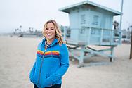 November 19, 2020. Santa Monica, California. New Yorker Alyssa Miller who moved west to Santa Monica, California.