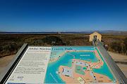 A park map showcases the Alviso Marina County Park main attractions during Santa Clara County Parks Day on the Bay event at Alviso Marina County Park in Alviso, California, on October 13, 2013. (Stan Olszewski/SOSKIphoto)