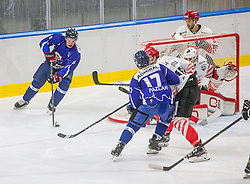 5# Alagic Amer of HKMK Bled during the final match of Slovenia Cup 2020/21 between HDD SIJ Acroni Jesenice and HKMK Bled, on 19.09.2020 in Ljubljana, Slovenia. Photo by Urban Meglič / Sportida