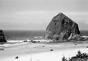 """Ackroyd 00118-5. """"Cannon Beach. August 24, 1947."""""""