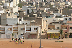 July 5, 2011 - Darak, Senegal - July 6, 2011; A look at people of Dakar, Senegal. Kids working out. (Credit Image: © Paul Lane/ZUMAPRESS.com)