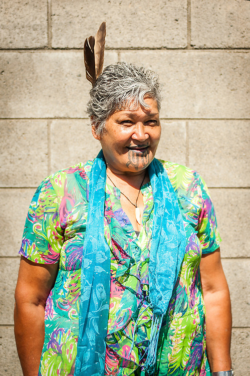 WELLINGTON, NEW ZEALAND - March 08: Newtown Festival goer all the way from New Plymouth. March 08, 2015 in Wellington, New Zealand.  REAL PEOPLE.  (Photo by Elias Rodriguez/ real-people.co.nz)