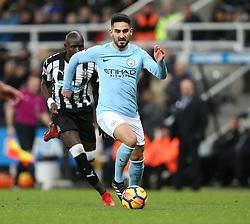 27 December 2017 Newcastle: Premier League Football - Newcastle United v Manchester City : Ilkay Gundogan of Man City.<br /> (photo by Mark Leech)