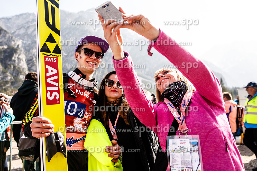 Andreas Wellinger (GER) during the Ski Flying Hill Men's Team Competition at Day 3 of FIS Ski Jumping World Cup Final 2017, on March 25, 2017 in Planica, Slovenia. Photo by Grega Valancic / Sportida