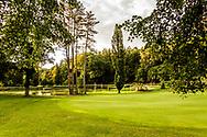 18-09-2015: Golf & Spa Resort Konopiste in Benesov, Tsjechië.<br /> Foto: Green van de achttiende van de Radecky baan