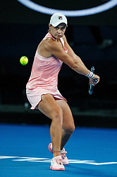 January 19, 2019 - Melbourne, VIC, U.S. - MELBOURNE, VIC - JANUARY 18: ASHLEIGH BARTY (AUS) (AUS) during day five match of the 2019 Australian Open on January 18, 2019 at Melbourne Park Tennis Centre Melbourne, Australia (Photo by Chaz Niell/Icon Sportswire) (Credit Image: © Chaz Niell/Icon SMI via ZUMA Press)