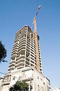 Israel, Tel Aviv Modern high-rise construction