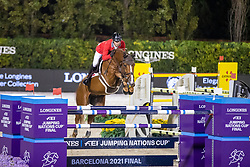 Smits Edwin, SUI, Farezzo<br /> Longines FEI Jumping Nations Cup Final<br /> Barcelona 2021<br /> © Hippo Foto - Dirk Caremans<br />  01/10/2021<br /> `