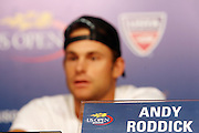 Andy Roddick at The 2008 Arthur Ashe Kids' Day held at The USTA Bille Jean King National Tennis Center on August 23, 2008 in Flushing, NY