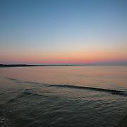 Today's Summer sunrise at Narragansett Town Beach,   August  21, 2013.  #401 #rhodeisland #surf #waves #sunrise