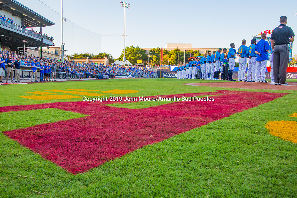 The Amarillo Sod Poodles played against the MidlandRockhounds during the Texas League Playoffs on Wednesday, Sept. 4, 2019, at HODGETOWN in Amarillo, Texas. [Photo by John Moore/Amarillo Sod Poodles]