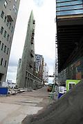 IJDock Amsterdam during construction