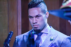 December 8, 2016 - Auckland, New Zealand - Joseph Parker during a Press conference ahead of the WBO world title boxing match against Andy Ruiz on Sat 10 Dec. (Credit Image: © Shirkey Kwok/Pacific Press via ZUMA Wire)