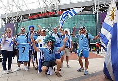 Uruguay Olympic football fans 26-7-12