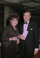 DR MIRIAM STOPPARD and SIR CHRISTOPHER HOGG at a reception in London on 30th September 1997.MBT 7