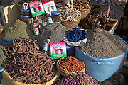Herbs, spices, cures and remedies, Marrakech, Morocco