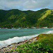Vatia Bay on Tutuila Island, American Samoa.