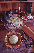 Early American food by William Woys Weaver still life Chester Co., PA