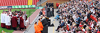 Fotball<br /> England<br /> Foto: Propaganda/Digitalsport<br /> NORWAY ONLY<br /> <br /> Liverpool, England - Sunday, April 15, 2007: Liverpool's Jamie Carragher gives a speech during a service at Anfield to remember the 96 supporters who died at the Hillsborough Disaster during an FA Cup Semi-Final in 1989.