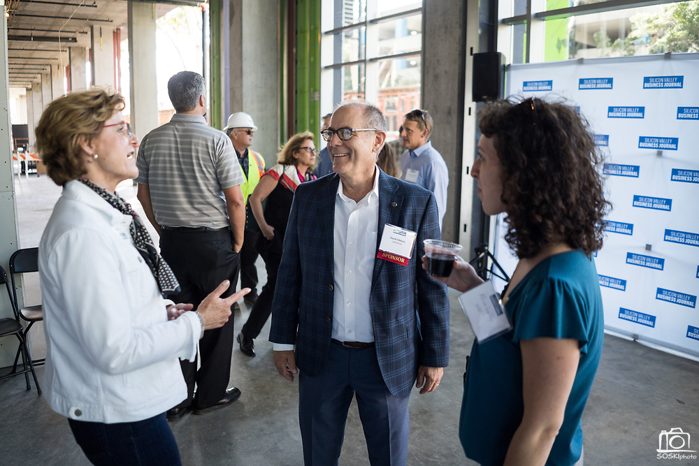David Gibbons of SWENSON networks during SVBJ's BizMix presented by SWENSON at The Grad in Downtown San Jose, California, on July 31, 2019. (Stan Olszewski for Silicon Valley Business Journal)
