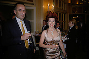 Jerry Rocos and his sister Cleo Rocos, Eleventh Annual Gala dinner for the Asian Business Awards 2007. Hosted by Eatern Eye and Ethnic Media Group. Hilton Hotel. Park Lane. 8 May 2007.  -DO NOT ARCHIVE-© Copyright Photograph by Dafydd Jones. 248 Clapham Rd. London SW9 0PZ. Tel 0207 820 0771. www.dafjones.com.