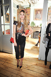 ZARA MARTIN at a party to celebrate the 1st anniversary of Alice Temperley's label held at Paradise, Kensal Green, London W10 on 25th November 2010.