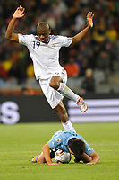 FOOTBALL - FIFA WORLD CUP 2010 - GROUP STAGE - GROUP A - URUGUAY v FRANCE - 11/06/2010 - PHOTO GUY JEFFROY / DPPI - ABOU DIABY (FRA)