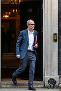 Sir Patrick Vallance, Government Chief Scientific Adviser leaving Downing Street, London on Tuesday, March 24, 2020 - after a Cabinet meeting, the day after Prime Minister Boris Johnson put the UK in lockdown to help curb the spread of the coronavirus. (Photo/Vudi Xhymshiti)