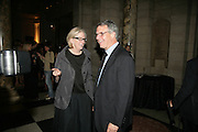 MARJORIE AND ALBERT SCARDINO, V and A celebrates 150th anniversary. V and A. London. 26 June 2007.  -DO NOT ARCHIVE-© Copyright Photograph by Dafydd Jones. 248 Clapham Rd. London SW9 0PZ. Tel 0207 820 0771. www.dafjones.com.