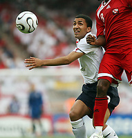 Photo: Chris Ratcliffe.<br /> England v Trinidad & Tobago. Group B, FIFA World Cup 2006. 15/06/2006.<br /> Aaron Lennon who made the difference.