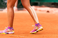 Harmony Tan (fra) and strap during the Roland Garros French Tennis Open 2018, Preview, on May 21 to 26, 2018, at the Roland Garros Stadium in Paris, France - Photo Pierre Charlier / ProSportsImages / DPPI