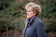 Uitvaart Mies Bouwman in een crematorium in Leusden.<br /> <br /> Op de foto:  Simone Kleinsma